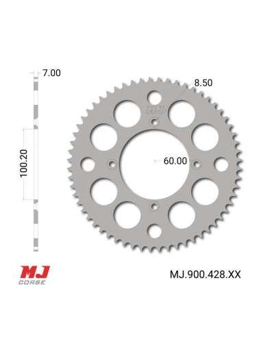 Corona MJ para Suzuki RM 85