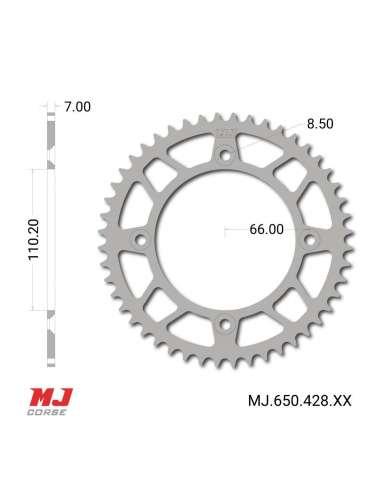 Corona MJ para KTM 105 XC 2008-2009