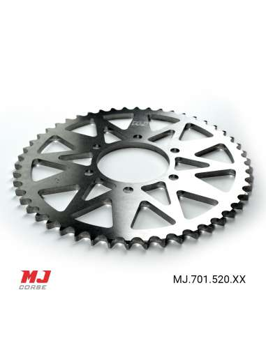 MJ rear sprocket for Kawasaki Z800 2013-2016
