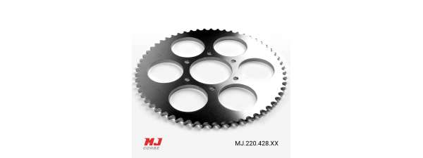 MJ rear sprocket for Derbi TT8