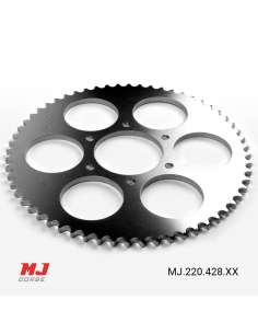 MJ rear sprocket for Derbi C6
