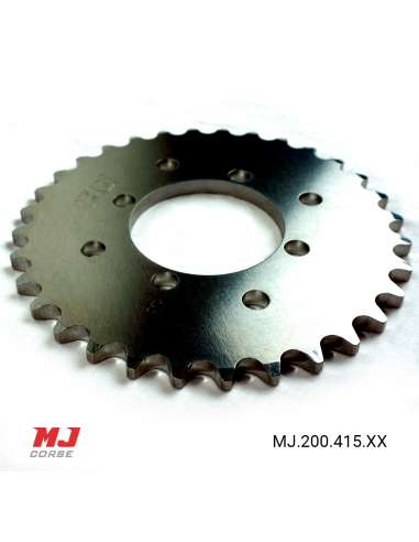 MJ rear sprocket for Derbi Diablo