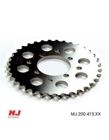MJ rear sprocket for Derbi RD2