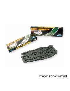Cadena 130 eslabones paso 420 KMC en color negro